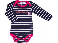 Боди Little Marcel LMRH0039 86 см Stripes/Dkblue