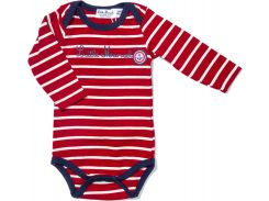 Боди Little Marcel LMRH0039 80 см Stripes/Pink