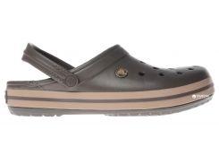 Сабо Crocs Crocband 11016-22Y-010 43-44 (M10/W12) Коричневые