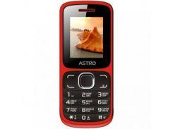 Мобильный телефон Astro A177 Dual Sim Red/Black
