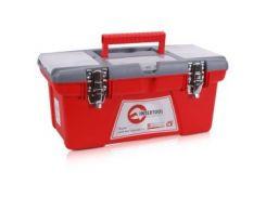"""Ящик для инструментов с металлическими замками, 16"""""""" 415x210x190мм INTERTOOL BX-0516"""
