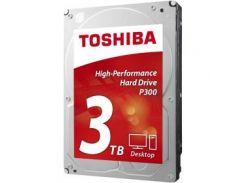 Накопитель HDD SATA 3.0TB Toshiba P300 7200rpm 64MB (HDWD130UZSVA)