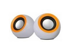 Комп.акустика OMEGA 2.0 OG-116B white orange 2x3W RMS USB