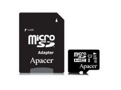 Карта памяти Apacer 32GB microSDHC UHS-I Class10 w/ 1 Adapter RP (AP32GMCSH10U1-R)