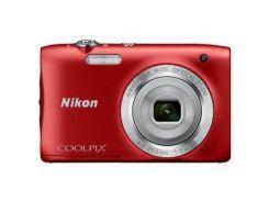 Цифровая камера NIKON Coolpix A100 Красный