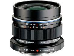 Объектив OLYMPUS EW-M1220 ED 12mm 1:2.0 Черный