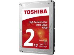 Накопитель HDD SATA 2.0TB Toshiba P300 7200rpm 64MB (HDWD120UZSVA)