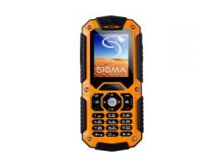 "Мобильный телефон Sigma mobile X-treme IT67 Dual Sim Black-Orange (4827798283219); 2"""" (176x220) TFT"