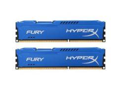 Модуль памяти DDR3 2x8GB/1600 Kingston HyperX Fury Blue (HX316C10FK2/16)