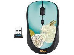 Мышь TRUST Yvi Wireless Mini Mouse flower