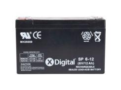 Аккумулятор X-DIGITAL SP 6-12 (SW6120)