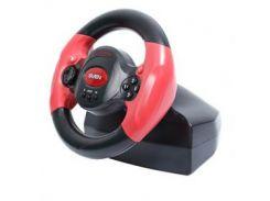 Руль SVEN SPEEDY Black-red USB