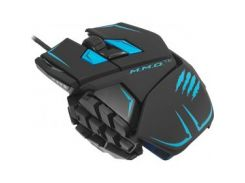 Мышь MADCATZ M.M.O. TE Gaming Mouse (MCB437140002/04/1) черно-синяя USB