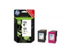 Комплект картриджей HP №121 DJ D2563/F4283 (CN637HE) Black/Color MultiPack