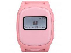 Детский телефон-часы с GPS Nomi Watch W1 Pink (239662)