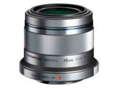 Объектив OLYMPUS ET-M4518 45mm 1:1.8 Silver