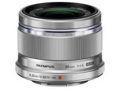 Объектив OLYMPUS ES-M2518 25mm 1:1.8 Silver