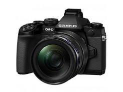 Цифровая камера OLYMPUS E-M1 mark II 12-40 Kit черный