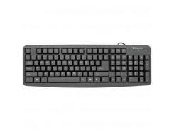 Клавиатура Defender Element HB-520 Black (45520) PS/2