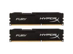Модуль памяти DDR3 2x8GB/1600 Kingston HyperX Fury Black (HX316C10FBK2/16)