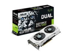 Видеокарта ASUS GeForce GTX1060 6144Mb DUAL (DUAL-GTX1060-6G)