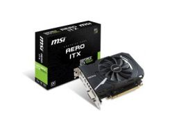 Видеокарта MSI GeForce GTX1050 Ti 4096Mb AERO ITX OC (GTX 1050 Ti AERO ITX 4G OC)