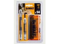Акс.инстр DeWALT  Набор DT71502 бит, магнит. держателей, 14 предм.