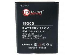 Аккумуляторная батарея EXTRADIGITAL Samsung GT-i9300 Galaxy S3 (BMS6313)
