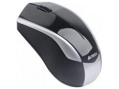 Мышь беспроводная A4Tech G7-400D-2 Black-Silver USB Holeless