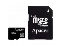 Карта памяти Apacer microSDHC Class4 32GB w/ 1 Adapter RP (AP32GMCSH4-R)