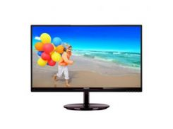 "Монитор Philips 21.5"""" 224E5QSB/01 AH-IPS Black; 1920 x 1080, 250 кд/м2, 5 мс, DVI, D-Sub"