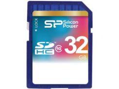 Карта памяти SILICON POWER SDHC 32GB Class 10
