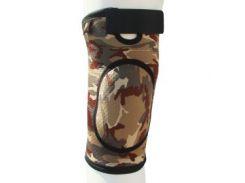 Бандаж для коленного сустава и связок, закрыт ARMOR ARK2106 размер XL, коричневый