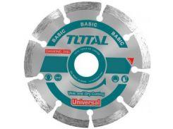 Акс.инстр TOTAL TAC2111153 Алмазный диск сегм, универс, 115х22.2мм.