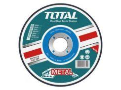 Акс.инстр TOTAL TAC2211801 Круг отрезной по металлу, 180х3.2х22.2мм.