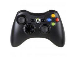 Геймпад Microsoft Official Xbox 360 Wireless Controller, black (NSF-00002)