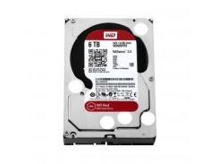 Накопитель HDD SATA 6.0Tb WD, 64Mb,SATAIII, Caviar Red (WD60EFRX)