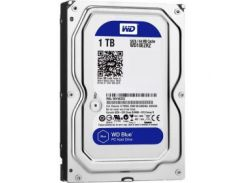 Накопитель HDD SATA-3 1TB WD, 64Mb Blue (WD10EZRZ)
