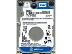 "Накопитель HDD 2.5"""" SATA 500GB WD Blue (WD5000LPCX)"