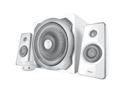 Акустическая система Trust Tytan 2.1 Subwoofer Speaker Set - white (18789)