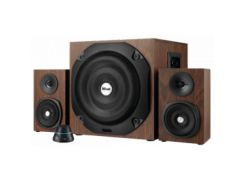 Акустика Trust Vigor 2.1 Subwoofer Speaker Set - brown