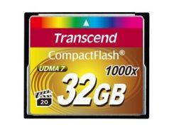 Карта памяти Transcend Compact Flash 32 GB (1000X)