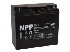 Аккумуляторная батарея NPP 12V 17AH (NP12-17) AGM