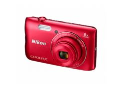 Цифровая фотокамера Nikon Coolpix A300 Red
