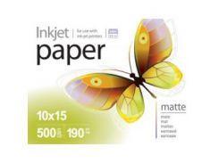 Фотобумага PrintPro матовая 190g/m2, 10x15, 500л (PME1905004R)