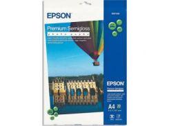 Фотобумага EPSON Premium Semigloss Photo Paper, полуглянцевая, 250g/m2, A4, 20л (C13S041332)