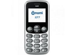 Мобильный телефон Nomi i177 Dual Sim Metal Grey