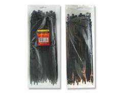 Хомут пластиковый 7,6x350мм, (100 шт/упак), черный INTERTOOL TC-7636