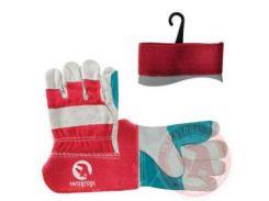 Перчатка замшевая (ящ.120) INTERTOOL SP-0153W