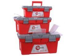 Комплект ящиков для инструментов, 3шт INTERTOOL BX-0403